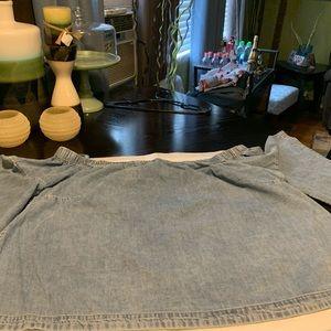 Lane Bryant Jeans Shirt